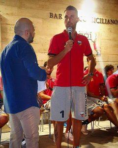 Daniele Grilli nel giorno della presentazione ufficiale