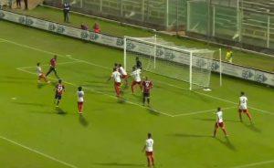Elio Nigro a bersaglio per l'1-1
