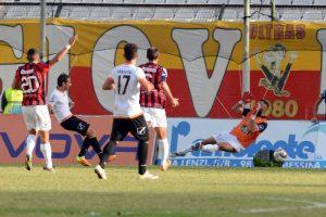 Il gol di Madonia che ha sbloccato il match