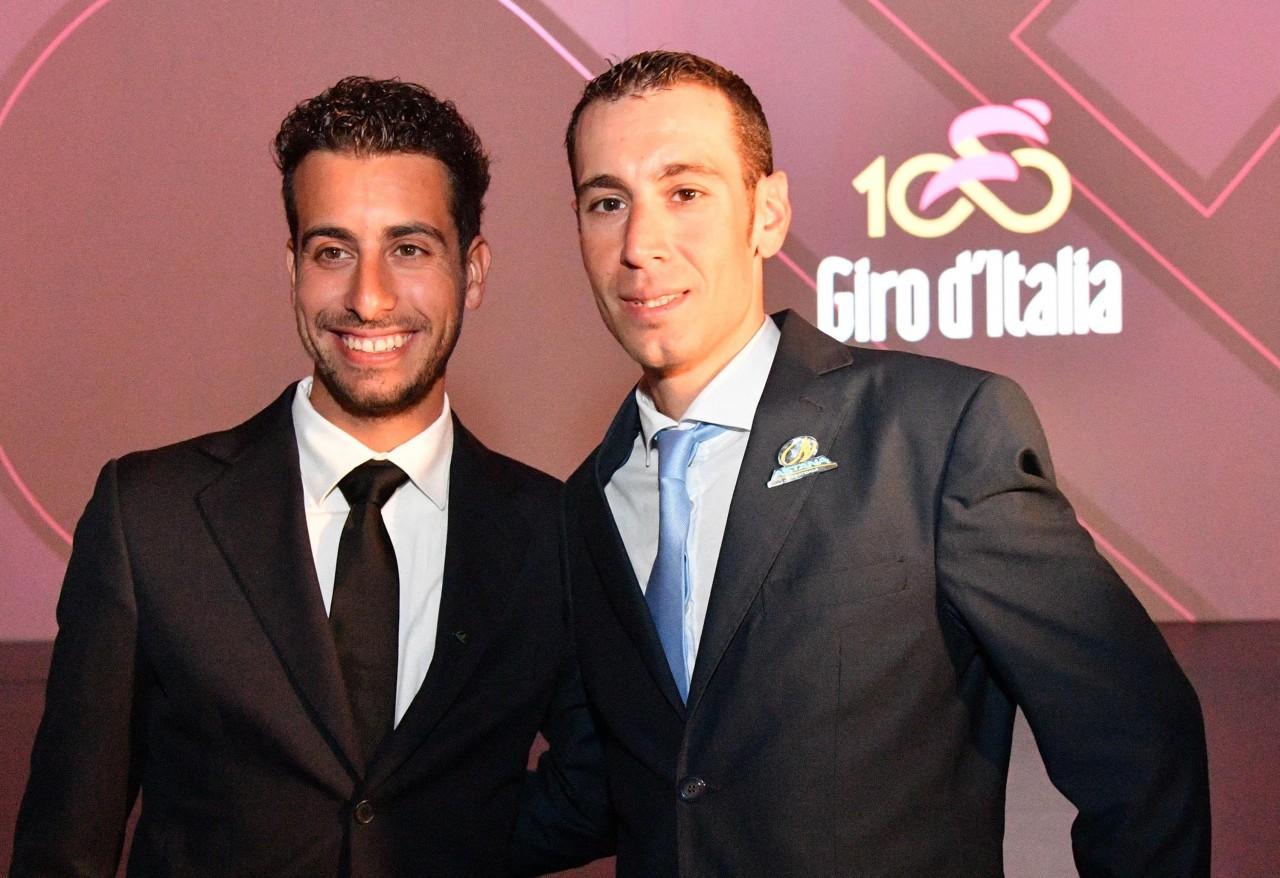Fabio Aru e Vincenzo Nibali