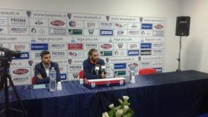 Elio Nigro in conferenza stampa