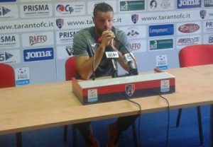 Fabio Prosperi, tecnico del Taranto