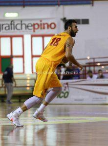 L'MVP Brunetti (foto Caracciolo)