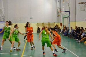 Fase di gioco Milazzo-Ragusa U 18 F