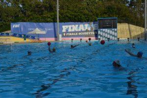 Un allenamento dell'Ossidiana Marbi Messina