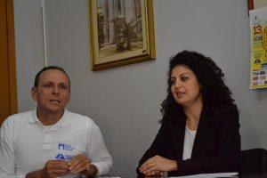 Antonello Aliberti e Manuela Trimarchi