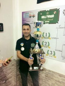 Antonio Belfiore, vincitore della manifestazione