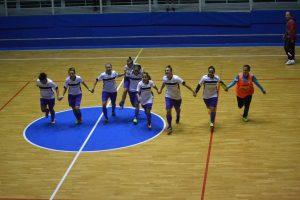 La gioia delle ragazze dell'F24 Messina