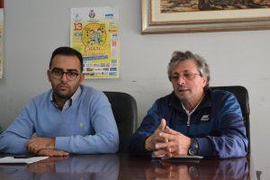 Il ViceSindaco Danilo Lo Giudice e Maurizio Crisafulli dell'AVIS