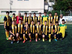 La squadra Allievi dello Junior Club Curcuraci