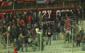 La tifoseria del Taranto