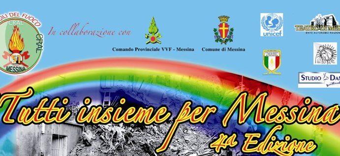 Locandina Tutti Insieme per Messina
