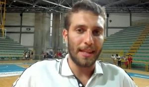 Mattia Consoli (Ass. coach Basket Barcellona)
