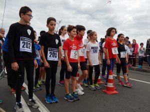 Partenza gara giovanile