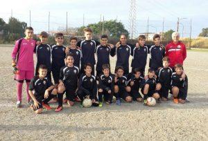 La squadra dei Giovanissimi provinciali (F24 Messina)