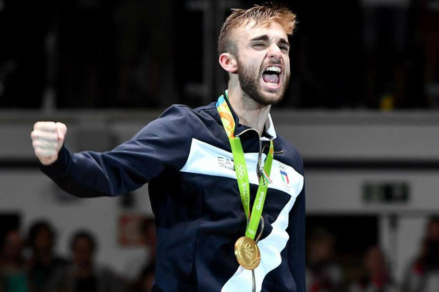 Il Campione Olimpico acese Daniele Garozzo