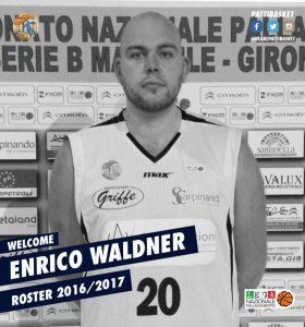 Enrico Waldner, pivot  Sport Patti