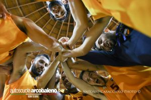 Barcellona gioca a Teramo (foto Caracciolo)