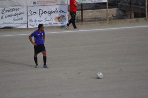 Francesco D'Agostino in azione (F24 Messina)