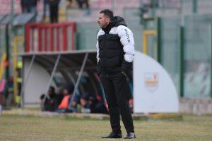 Il tecnico Cristiano Lucarelli