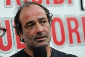 Mister Catalano rilascia un'intervista a fine partita
