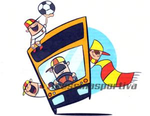 bus giallorosso