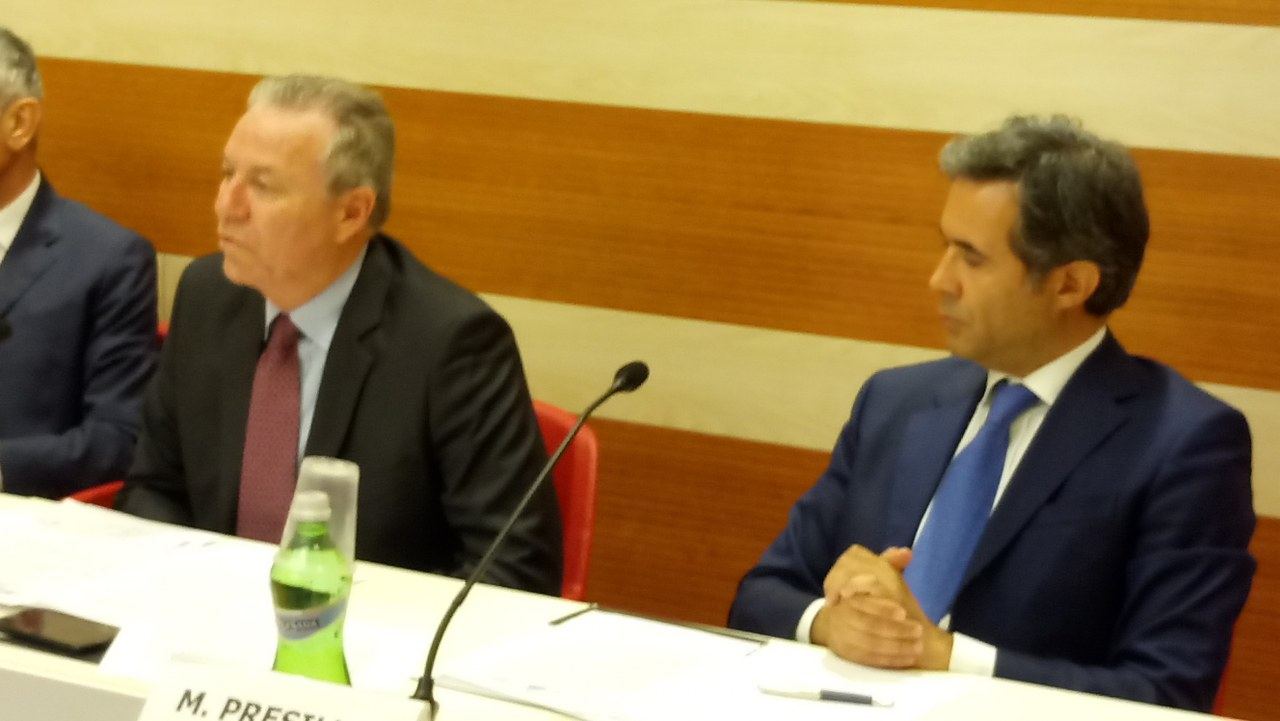 Roberto Fanelli e Marcello Presilla