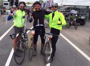 ciclista messinese alla Granfondo Giro delle Fiandre