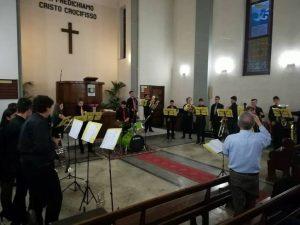 Una immagine del concerto organizzato dalla Chiesa Valdese di Messina