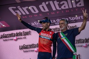 Vincenzo Nibali e Renato Accorinti