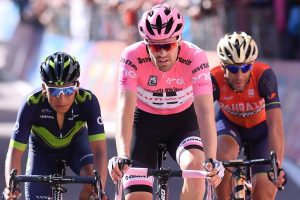 Quintana, Dumoulin e Nibali