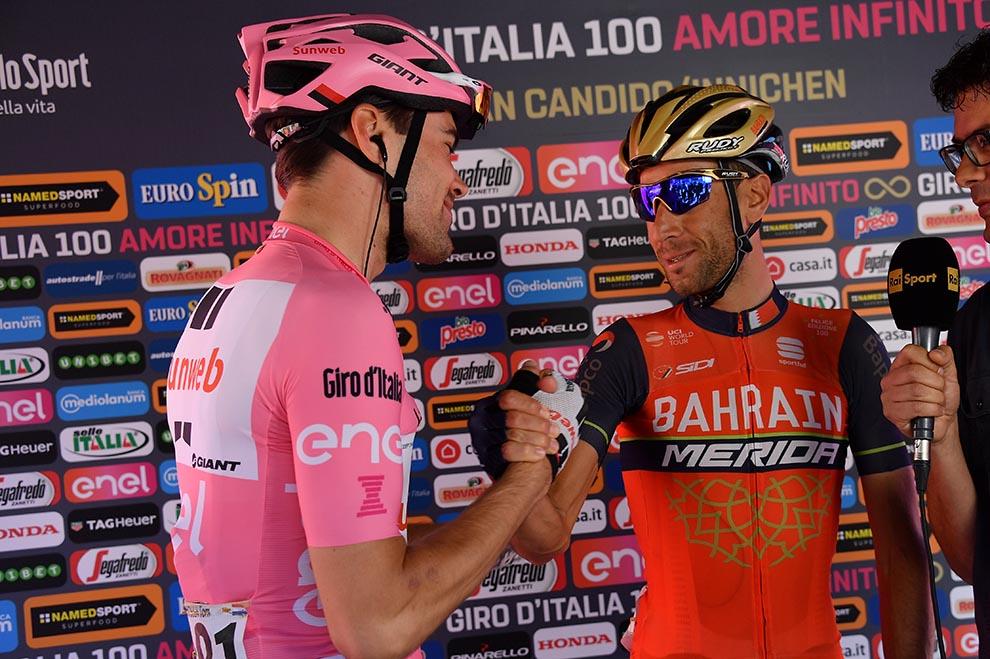 Giro 100, Dumoulin vigile e spavaldo. Analisi e video highlights da Ortisei