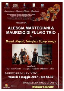 Brazil, Napoli, latin-jazz & pop songs
