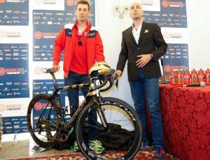 Nibali al Giro d'Italia con la nuova bici