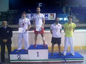 Carmelo Polimeni sul podio ai CNU di Catania