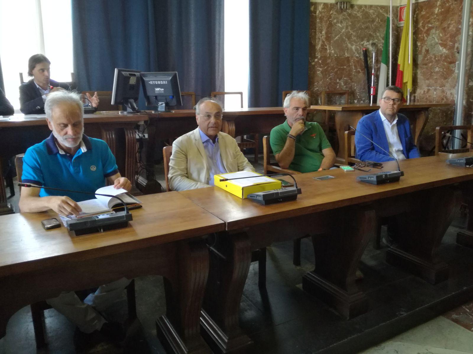 Pino, Mento, Pitino e Magazzù