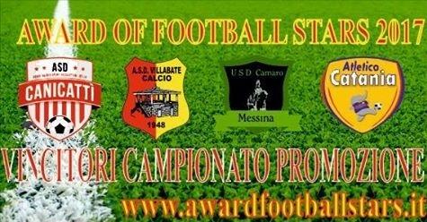 Award of football stars