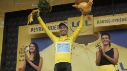 Aru maglia gialla al Tour de Frace