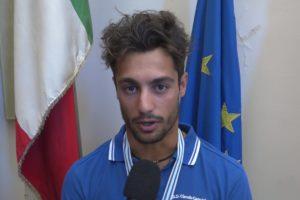 Il campione di canottaggio Giovanni Ficarra
