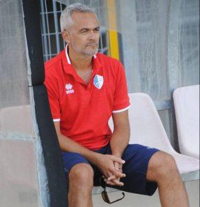 Massimo Formisano, allenatore del Sant'Agata (foto La Marca)