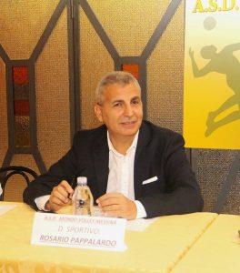 il drettore sportivo Rosario Pappalardo