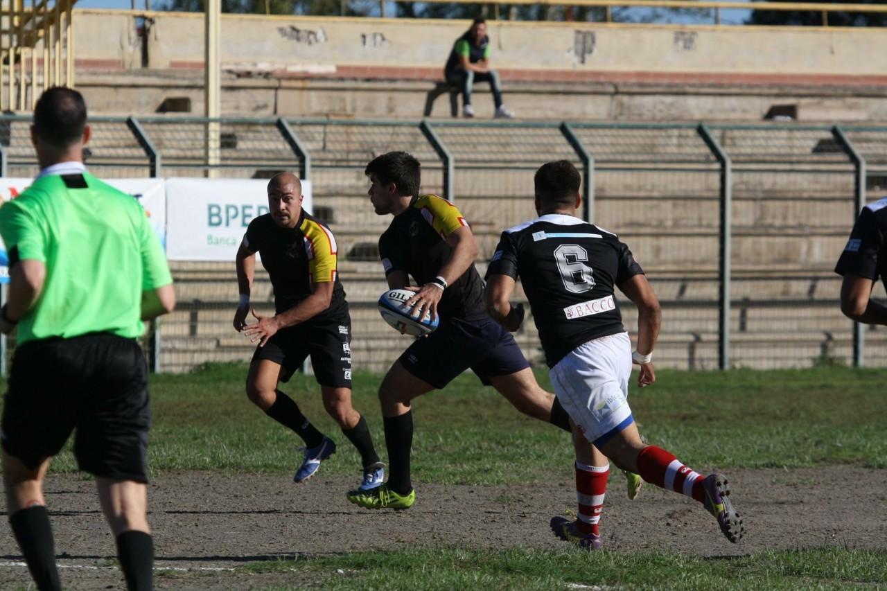 Una fase del derby tra Amatori Catania e Clc Messina