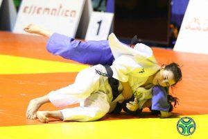 Martina Lo Giudice durante un combattimento