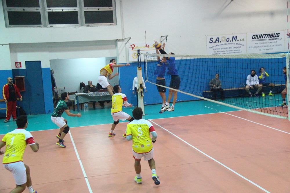Valerio Morisciano (Mondo Volley in attacco)