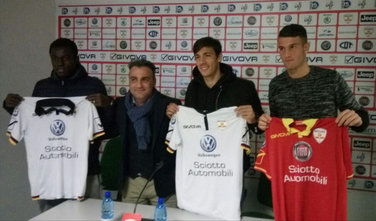 Yeboah, Lamazza, Granado e Rinaldi