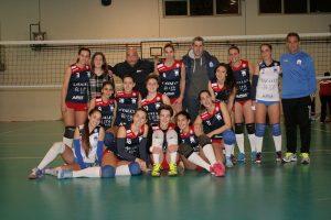La Saracena Volley festeggia la vittoria