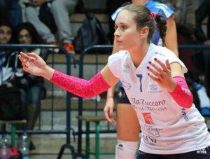 il libero dell'Amando Volley, Floriana Cosentino