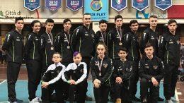 Gli atleti della Tiger's Den che hanno gareggiato alla Insubria Cup