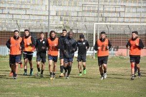 allenamento Messina
