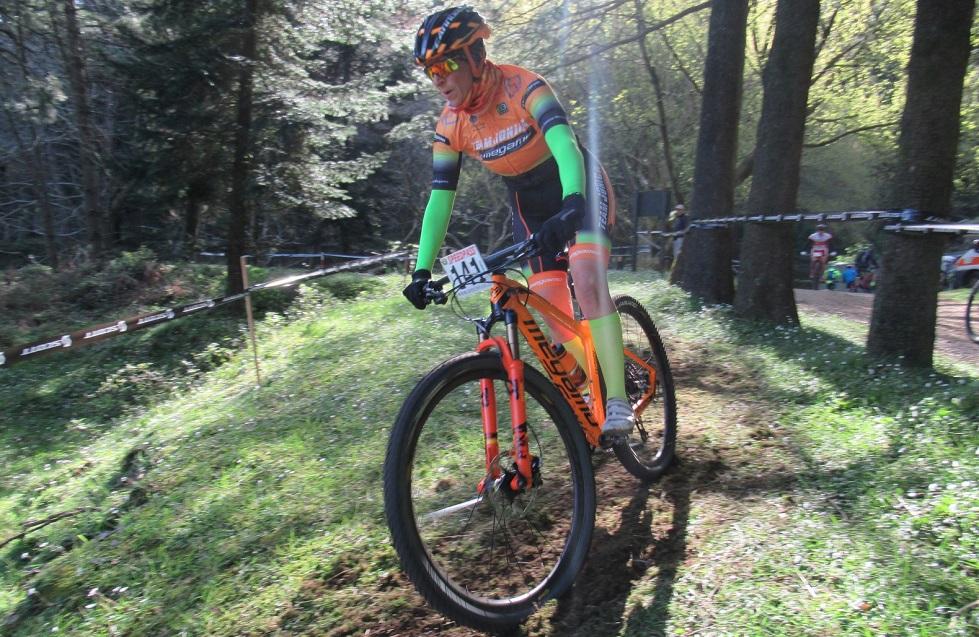 Sarah Vita del team Jonica Megamo
